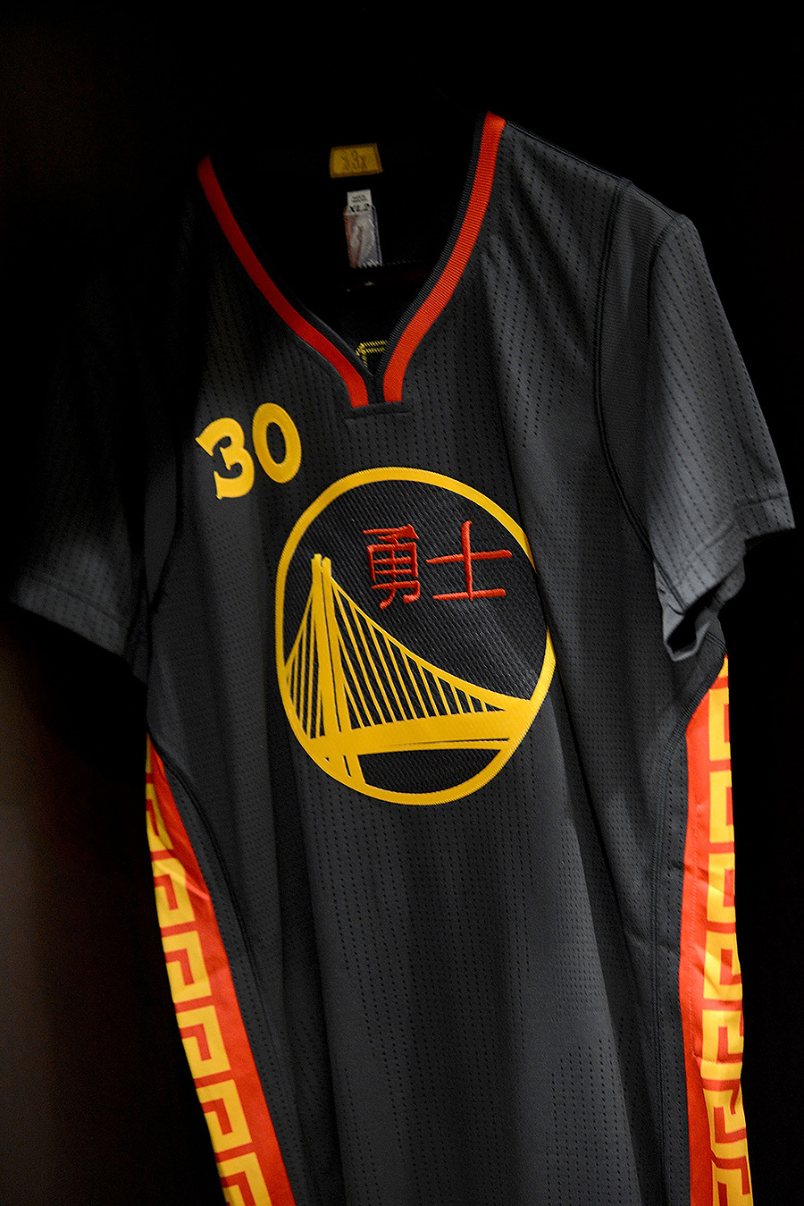 classic fit d238b 736e2 Golden State Warriors Release Chinese New Year's Uniforms