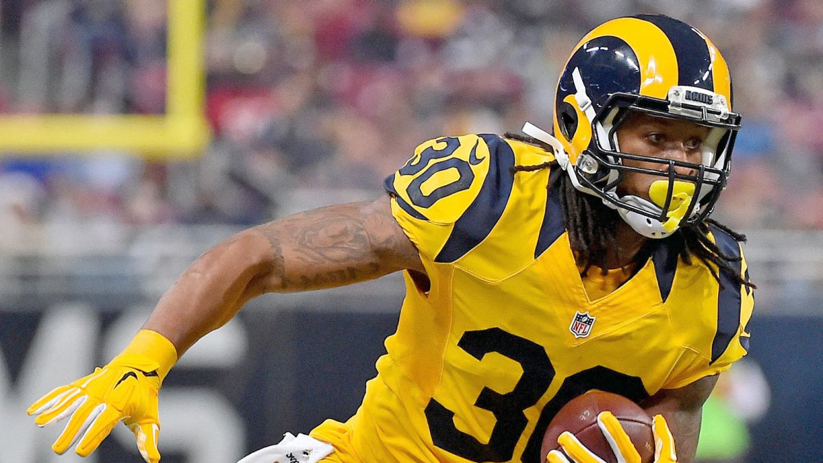 huge selection of 54e43 a2ad3 Todd Gurley: Rams Are Going To The Superbowl