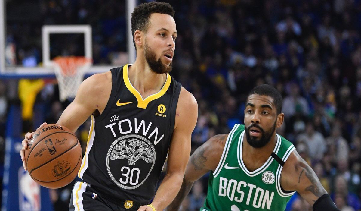 7261a916ef94 Steph Curry And Kyrie Irving Combine For 86 Points In A Epic Duel