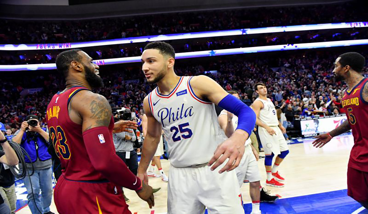 d8d300c22e8 Entertainment. Lebron James Developing A Comedy Series Based On Ben Simmons  Life