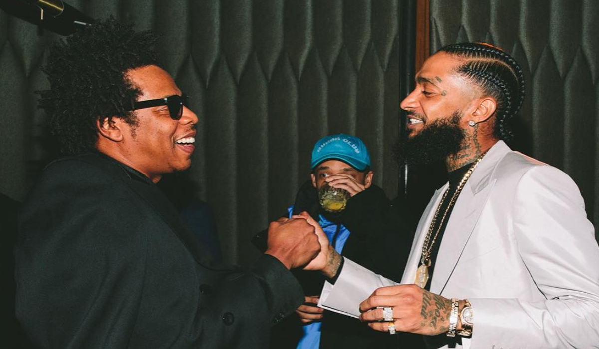 Image result for Nipsey hussle and Jay Z